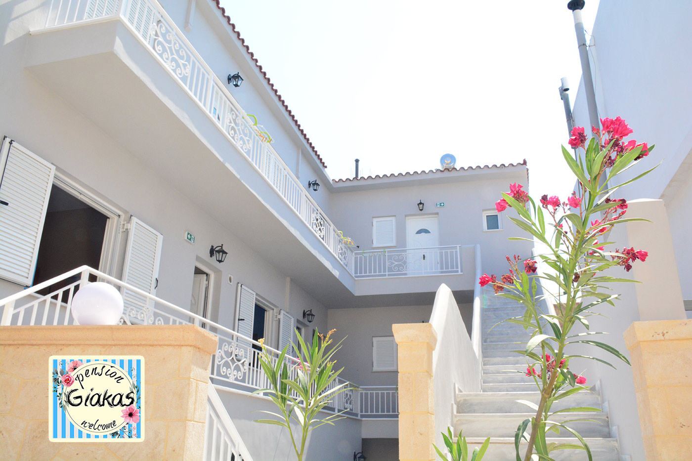 Giakas pension rooms aegina island